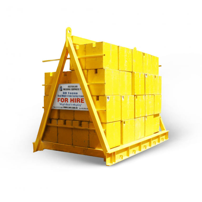 Crane Test Weight Hire Service